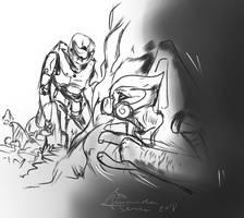 Devil Monster by AmanndaSierra