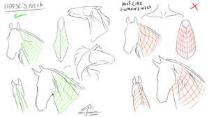 Horse tutorial part 4 by AmanndaSierra