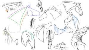 Horse tutorial part 5 by AmanndaSierra