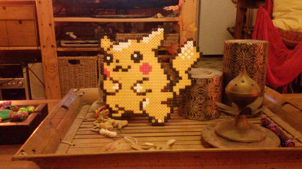 Pikachu by AidaSoriano