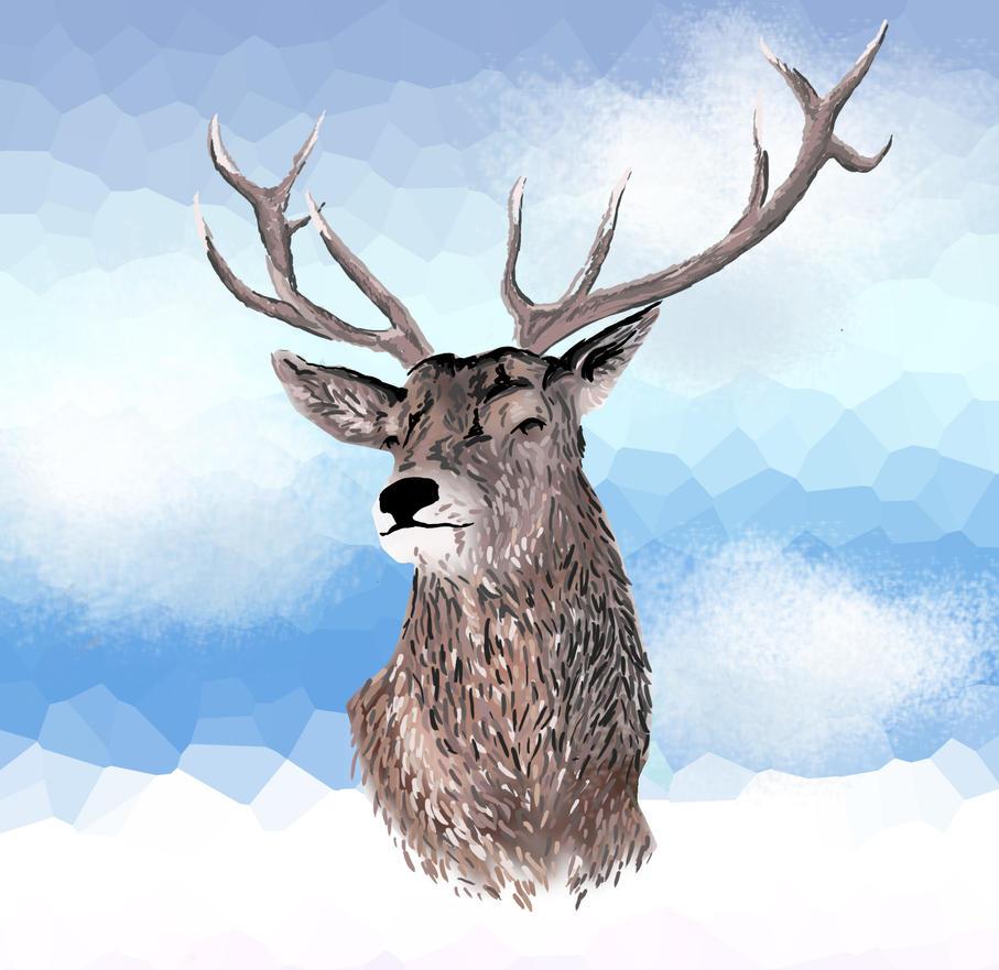 Cool Deer By Hanasomething On Deviantart