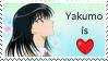Tsukamoto Yakumo Stamp by Ryuu-niisan
