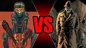 Kick-Ass vs Rorschach