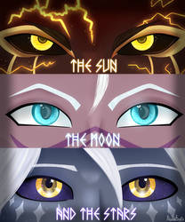 The Eleven Eyes of Dragon Prince (FANART) by AlphaCubix