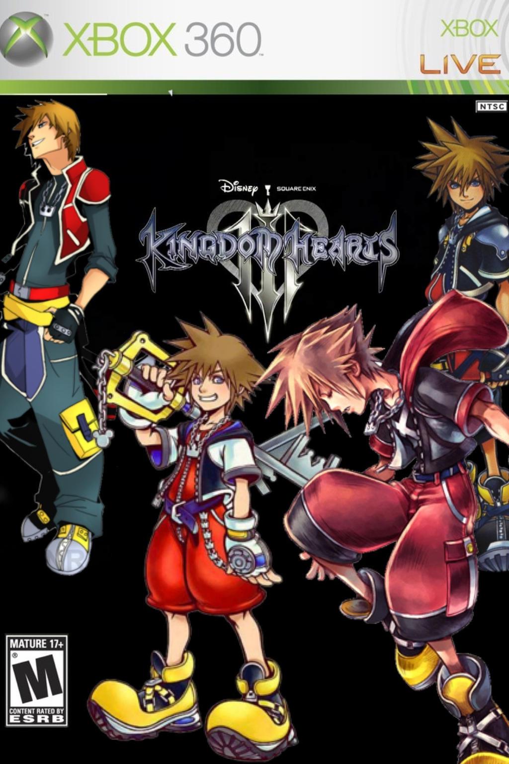 If Kingdom Hearts were on Xbox 360 by Blazekai23 on DeviantArt