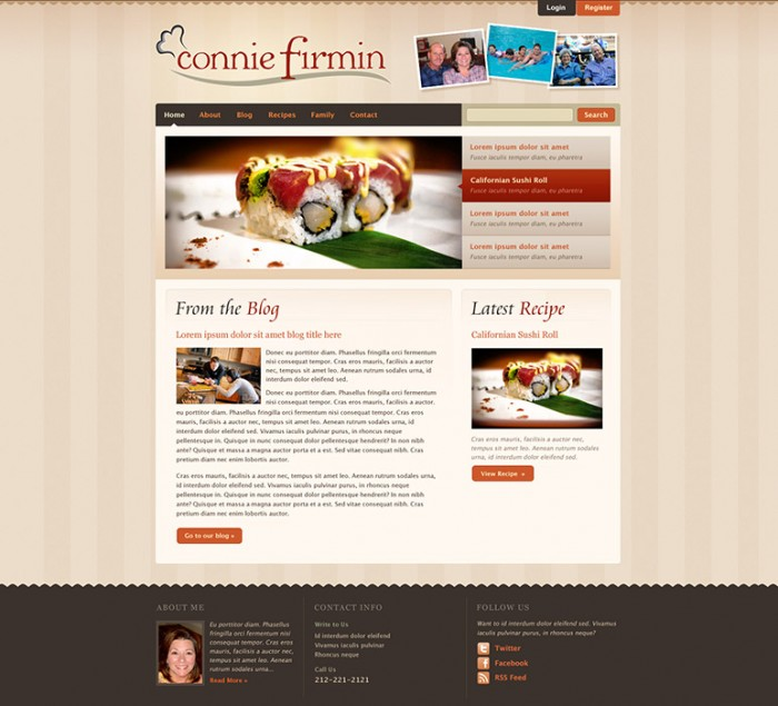 Connie Hill Firmin Website by HappyCatfishWeb