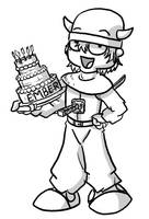 Happy Birthday Ember by SLTE