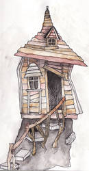 Crooked House by heart-of-glass
