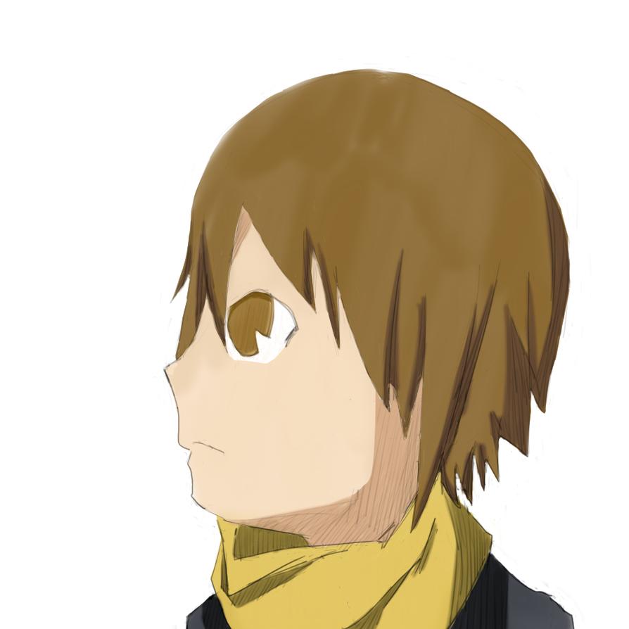 Yellow Scarves leader by Shinobka