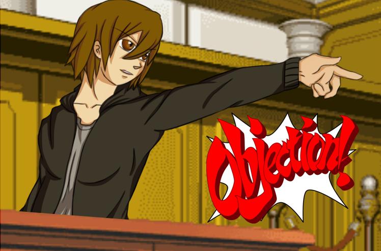 Tainaka Ritsu: Ace Attorney by Shinobka