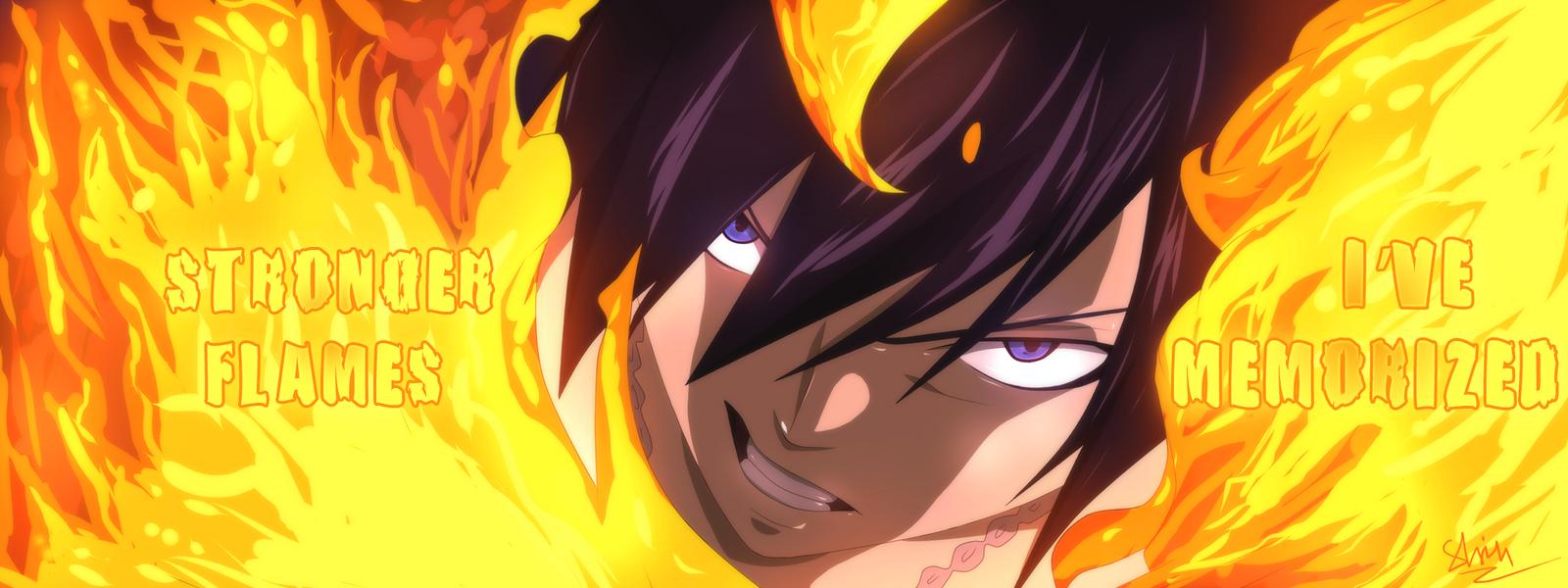 Gray's on Fire by Shinobka