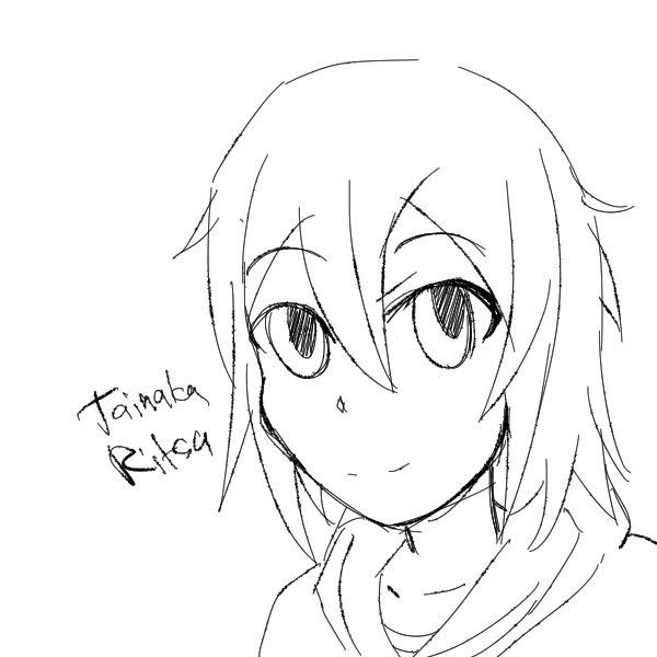 Tainaka Ritsu doodle by Shinobka
