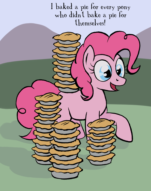 Pie paradox by AmbroseButtercrust