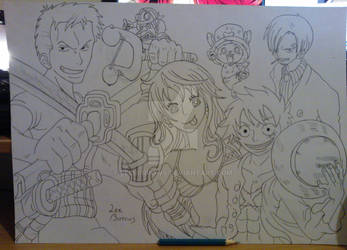 Going Merry Crew ( WIP ) by LeeBurrows