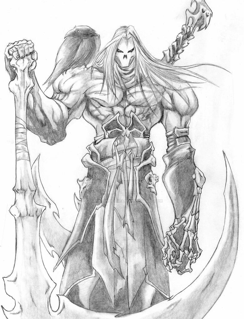 Darksiders - Death by adarkworldfantasy