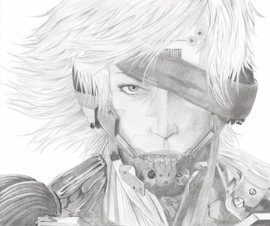 Metal Gear Rising - Raiden by adarkworldfantasy