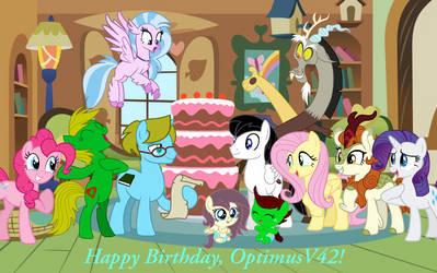 Happy Birthday, OptimusV42!