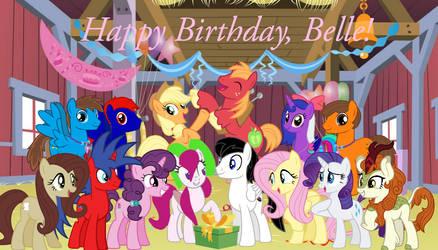 Happy Birthday, Belle (MezairPlush) (2021)!