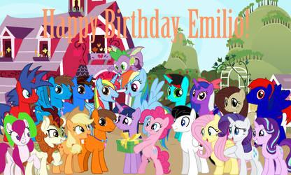 Happy Birthday, Emilio (Dracorider19) (2021)!