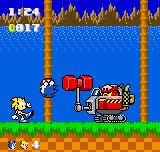 Sonic and Brisk vs. Dr. Eggman by GoldenEubank21
