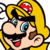 Nega-Mario Icon by GoldenEubank21