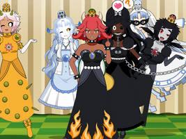 The Super Crown Baddie Belles by MegaToon1234