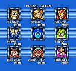Mega Man Game Gear Remake: Stage Select