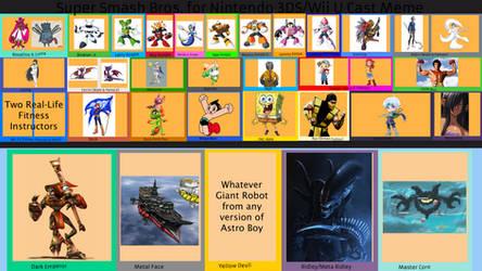 MT1234 Smash Bros. for 3DS/Wii U