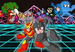 Mega Man CX Japanese Cover Art