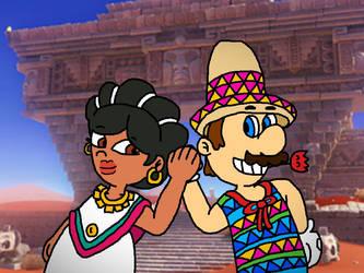 Mario's Dance with Marigold