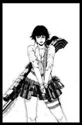 DMC: Lady Commission by TAKORUone