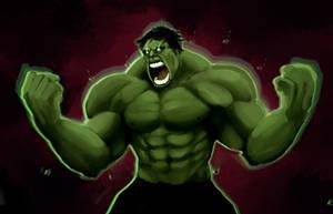 Hulk Smash by TAKORUone