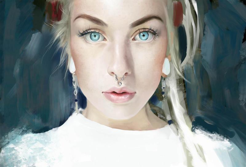 Dd Blue eyes by TAKORUone