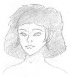 Woman portrait by Aessen