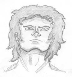 Man portrait by Aessen