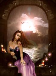 Amethyst Reverence by Hanan-Abdel