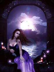 My Blue Heart by Hanan-Abdel