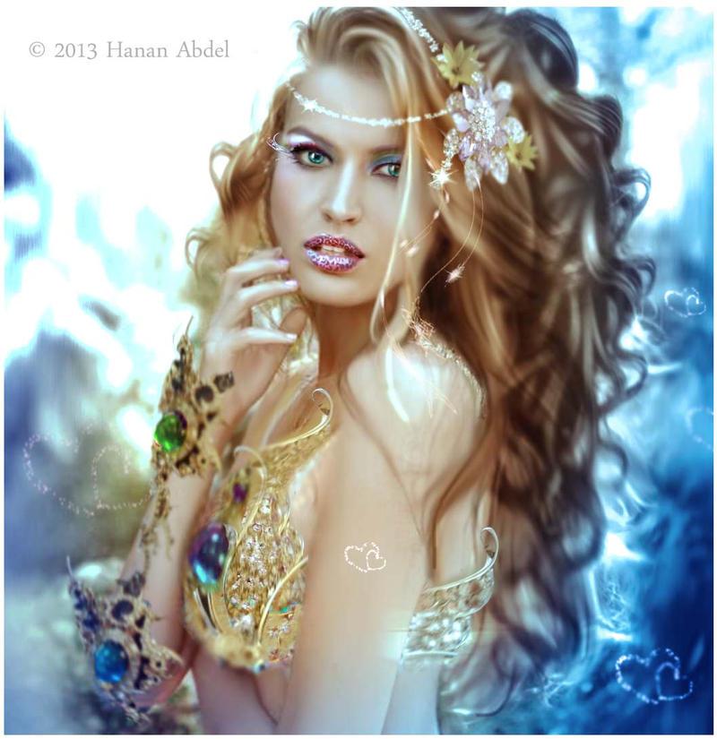 Goddess of Lullabies by Hanan-Abdel