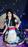 Alice madness returns cosplay (silk maiden)