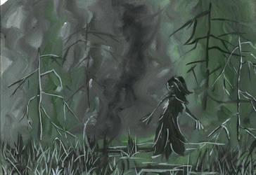 spirit of the swamp by MarinaBocharova