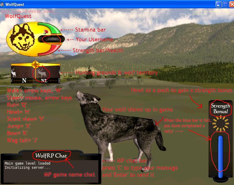 free wolf quest account