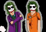 When Joker Met Patient 4479 by RouxWolf