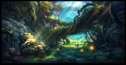 Magic Forest_2 by IvanLaliashvili