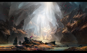 Dragon valley by IvanLaliashvili