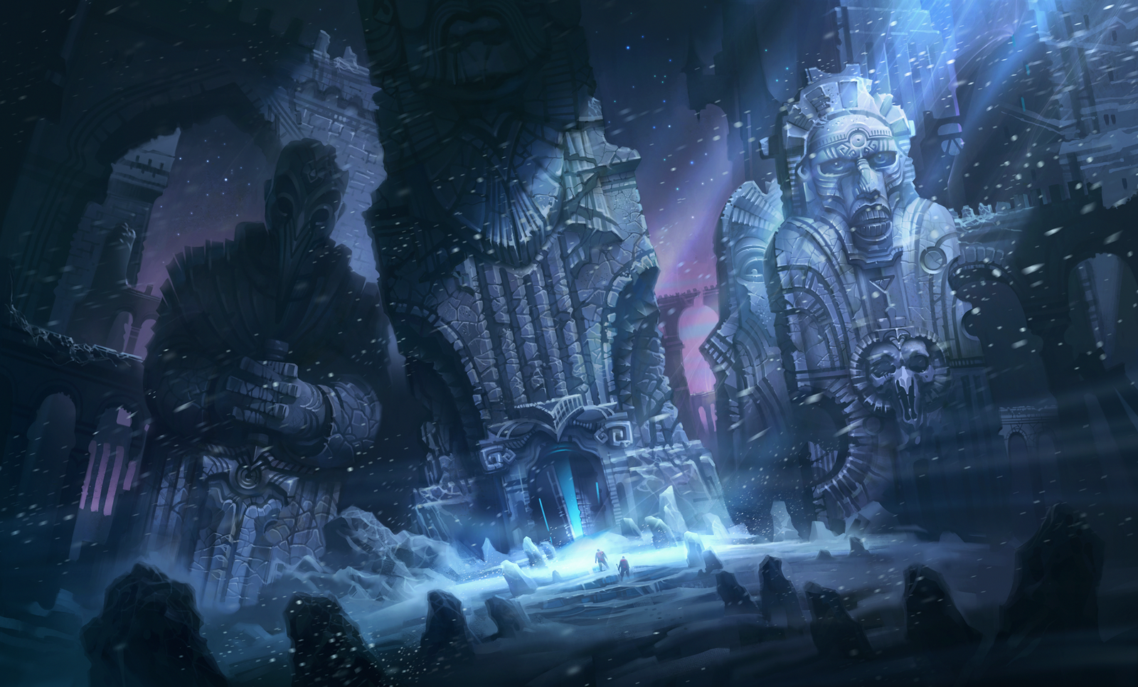 Hp Lovecraft Art Wallpapers: At The Mountains Of Madness_2_Howard Lovecraft By