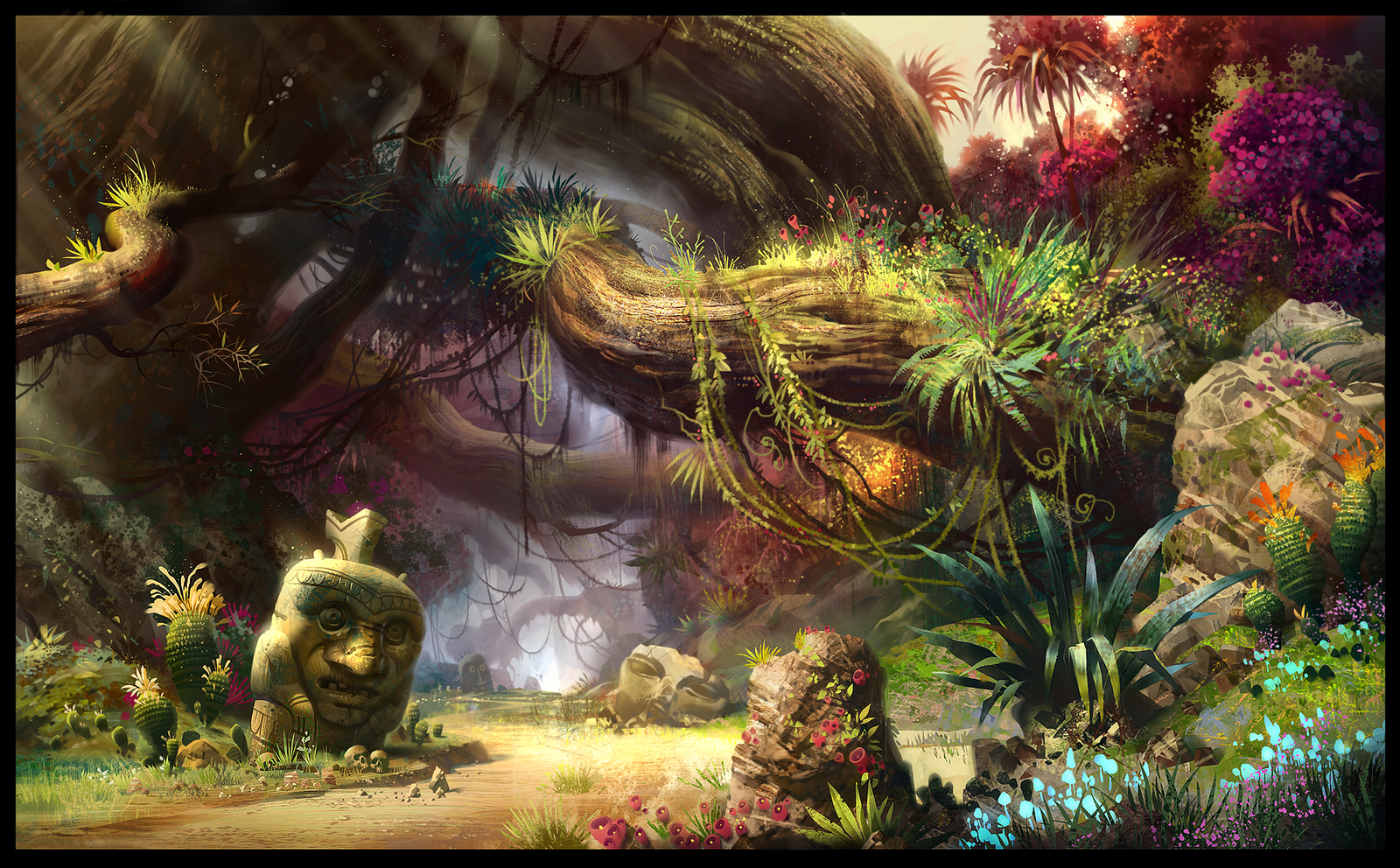 Loading animation_Magic Forest by ivany86