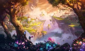 7heaven landscape_wallpaper by IvanLaliashvili