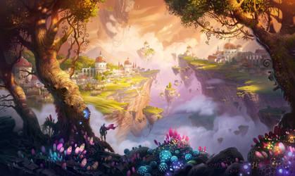 7heaven landscape_wallpaper
