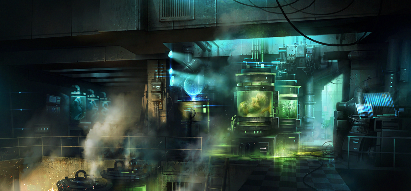 Old laboratory by ivany86