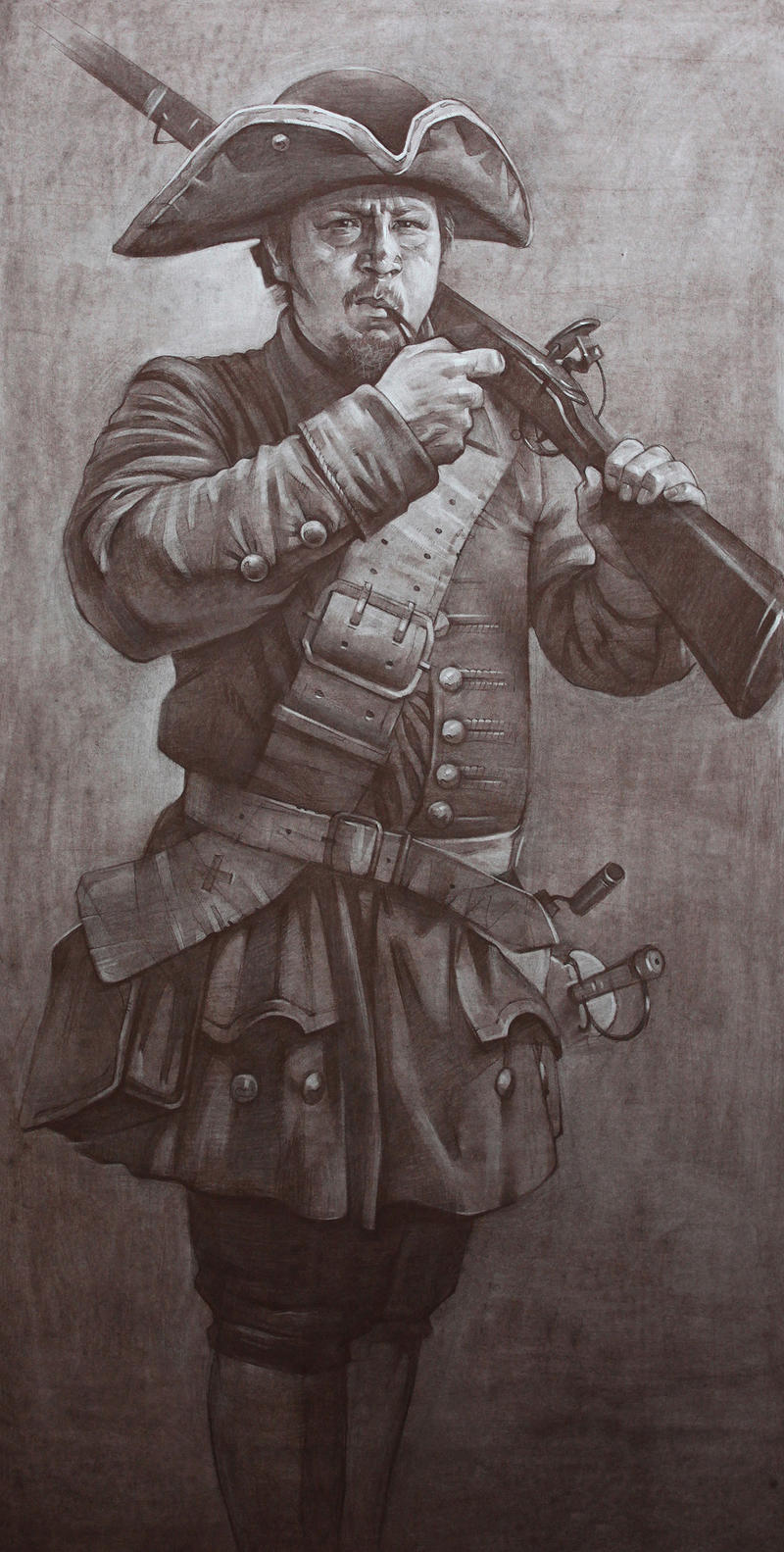 A soldier in the Russian Army during the 18th c_2 by ivany86